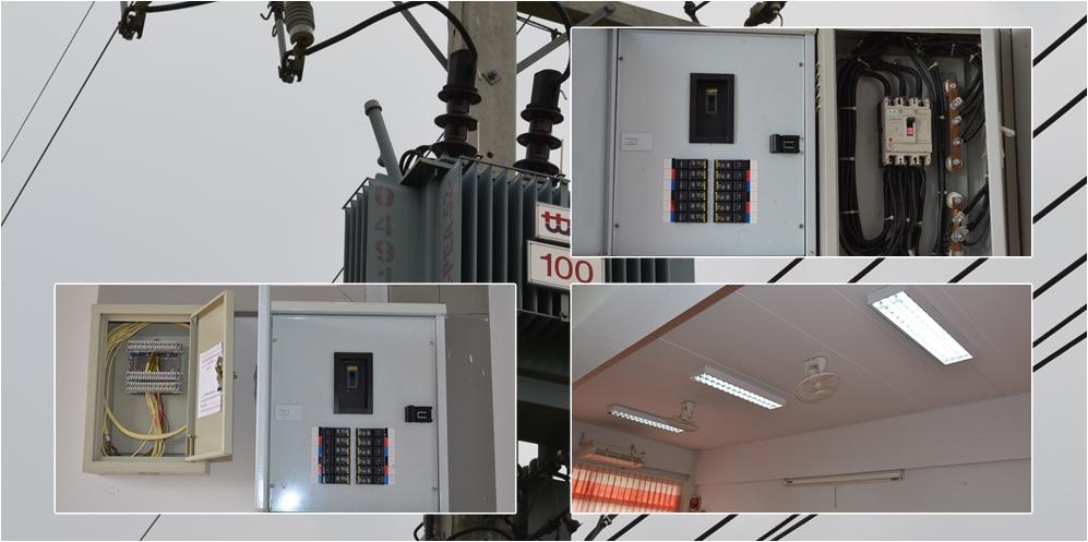 ระบบไฟฟ้าและไฟส่องส่วาง